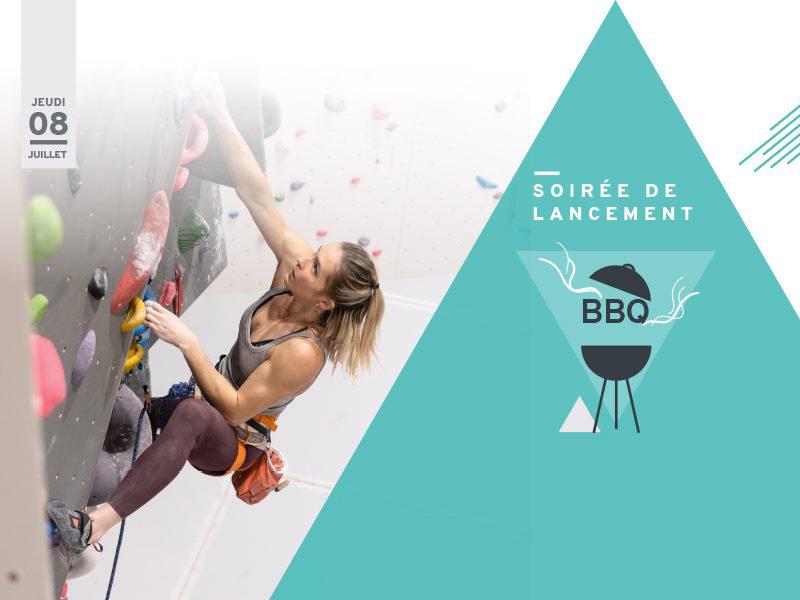 Soirée d'ouverture de la salle Climb Up Mulhouse Wittenheim : contest de blocs