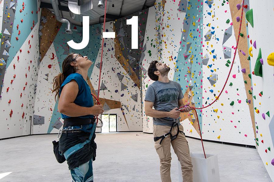 j-1 avant l'ouverture de la salle Climb Up Mulhouse Wittenheim